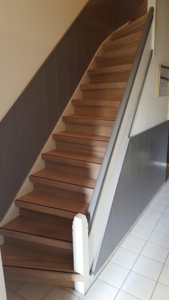 trap renovatie dichte trap
