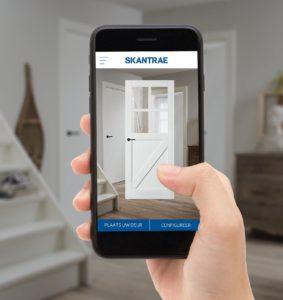 app voor Skantrae binnendeuren