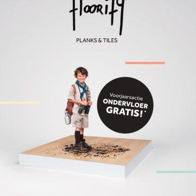 Gratis ondervloer bij aankoop van een Floorify vloer