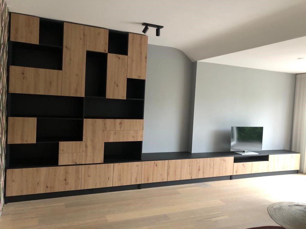 TV meubel met boekenkast