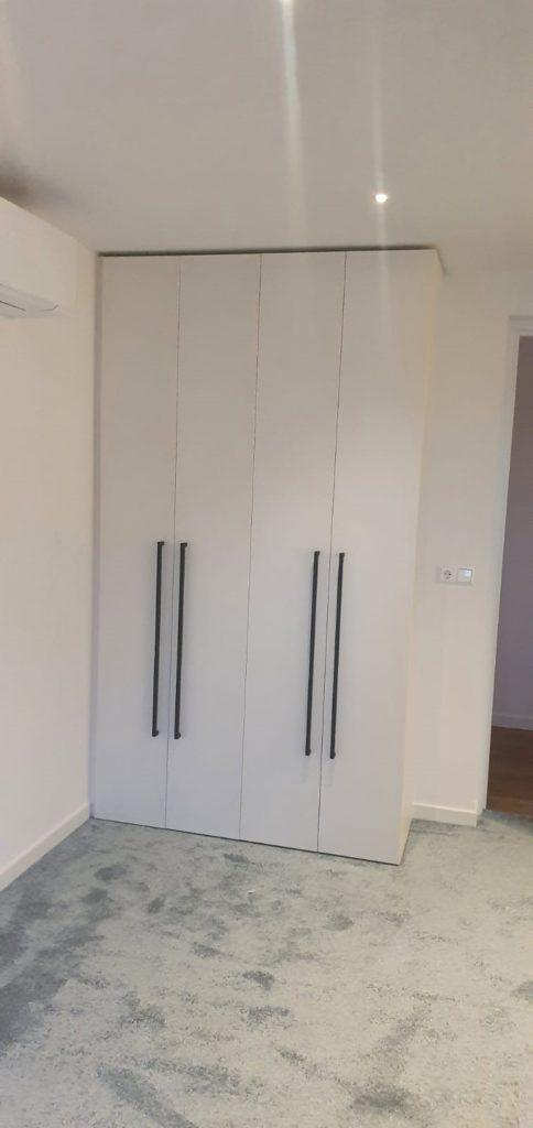 Draaideurkast met 4 deuren