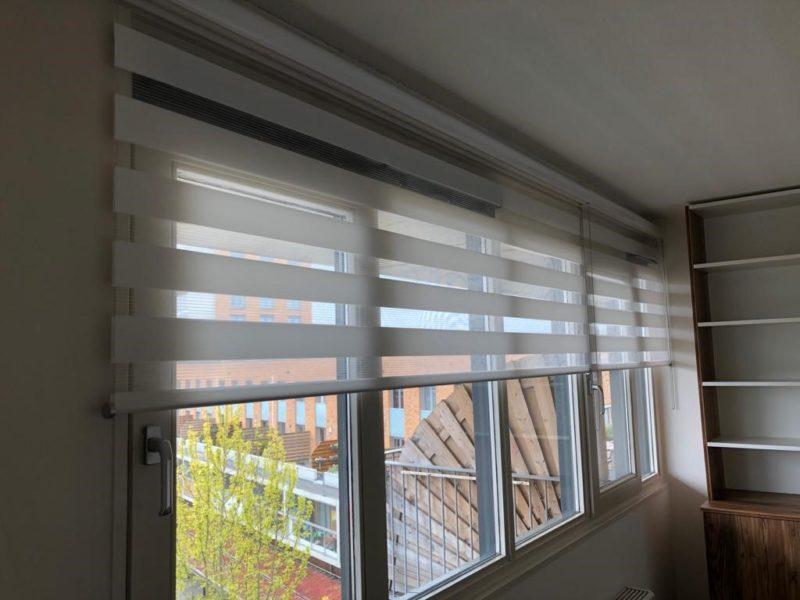 Raamdecoratie Duorol open